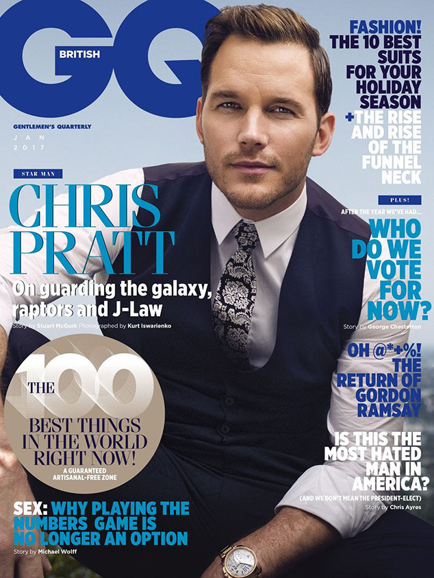 Chris Pratt, British GQ